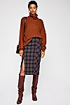Thumbnail View 1: See You Glow Plaid Skirt