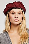 Thumbnail View 1: Alice Studded Houndstooth Beret