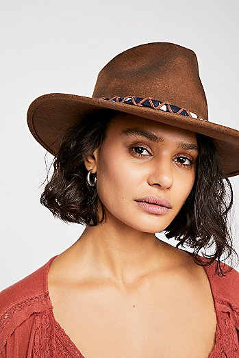 Timber Distressed Felt Hat