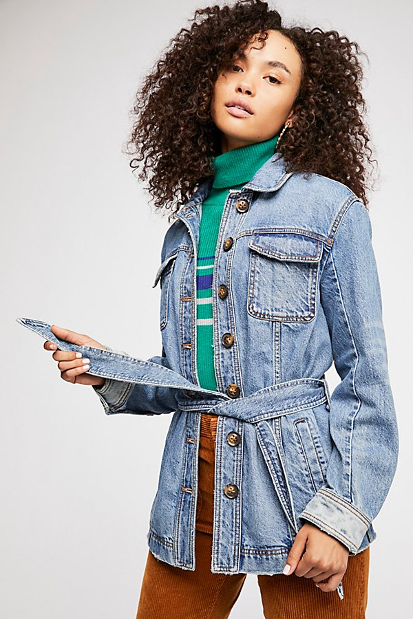 Slide View 2: Heritage Denim Shirt Jacket