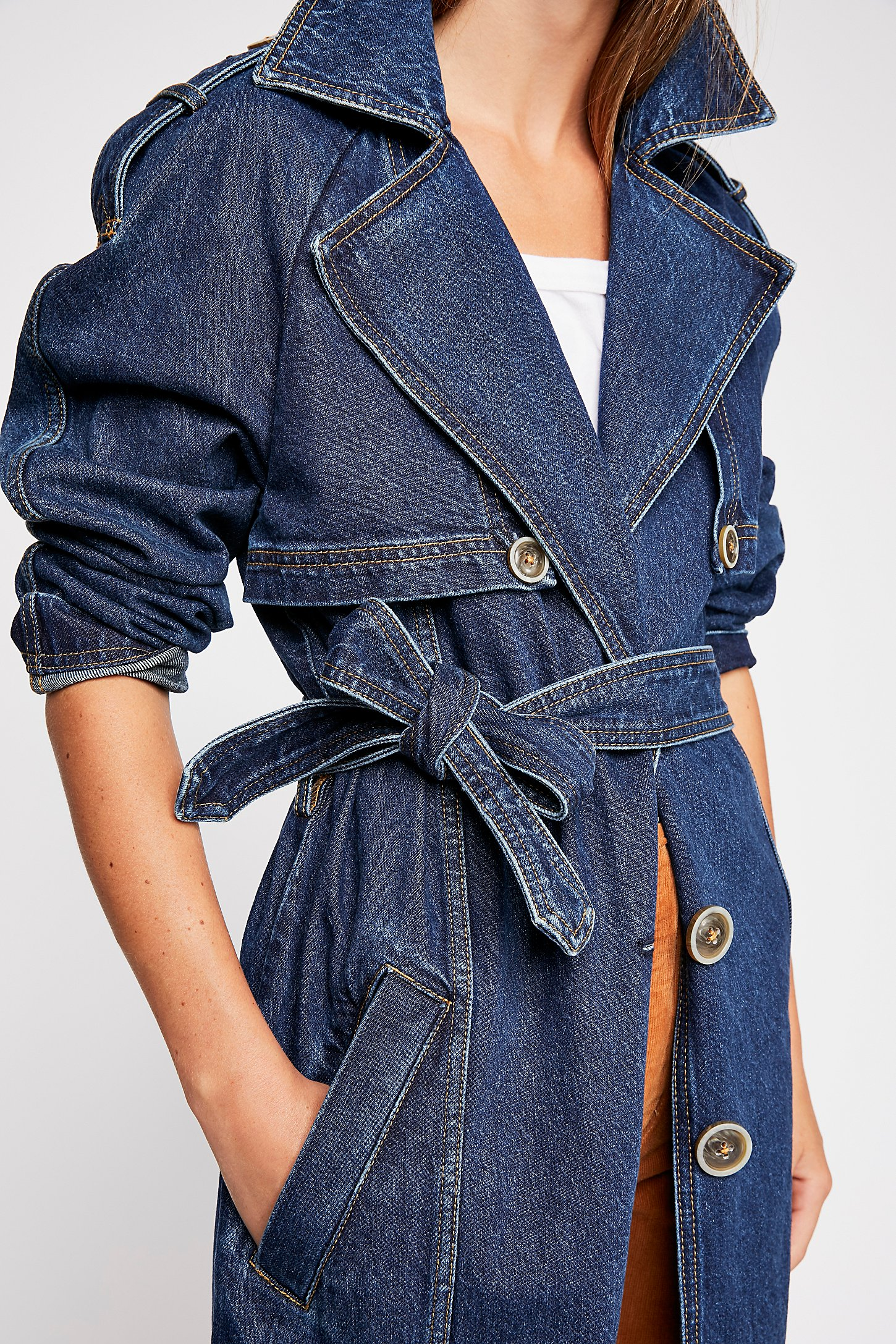 Indigo Night Duster | Free People