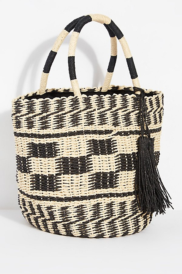 Slide View 2: Alice Straw Tote