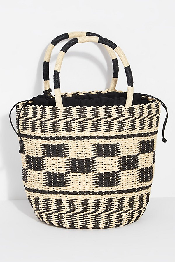 Slide View 4: Alice Straw Tote