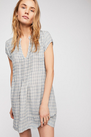 Riven Linen Tunic by Free People