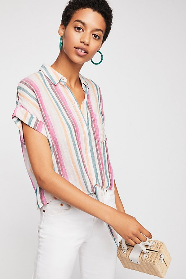 Slide View 1: Amelie Stripe Top