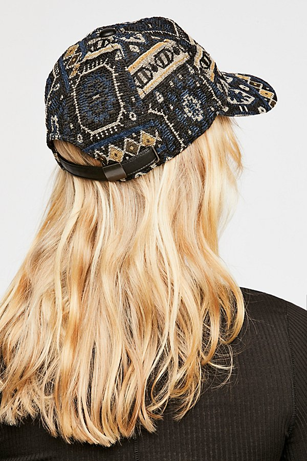 Slide View 2: Midnight Blue Patterned Baseball Hat