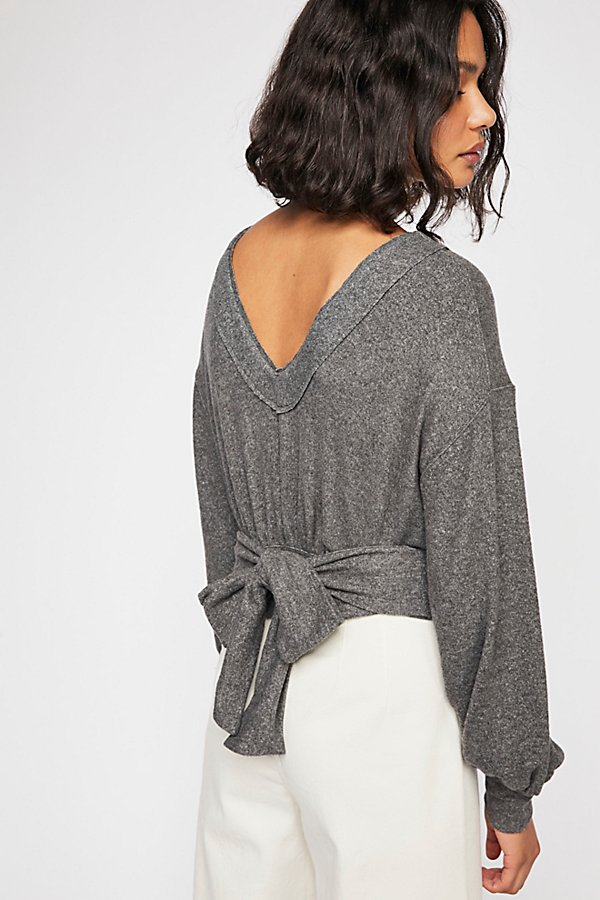 Slide View 1: Beach Front Long Sleeve Top