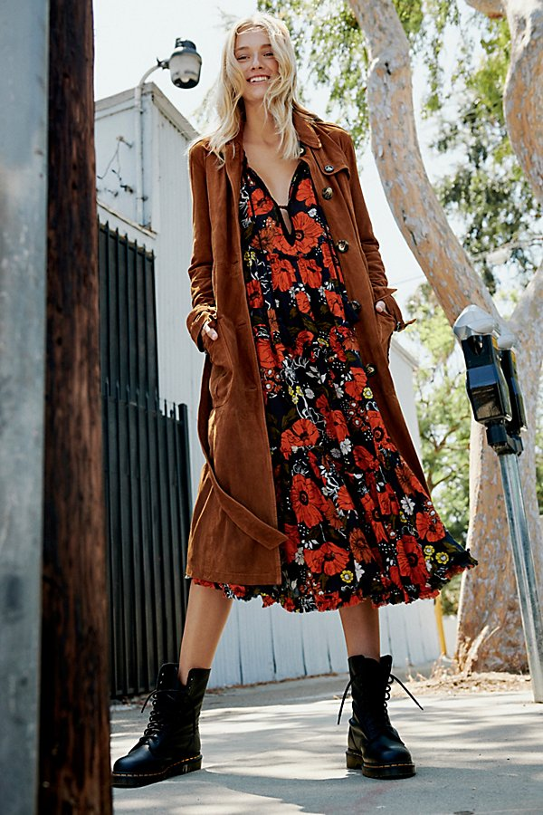 Slide View 1: We The Free Larsen Suede Trench