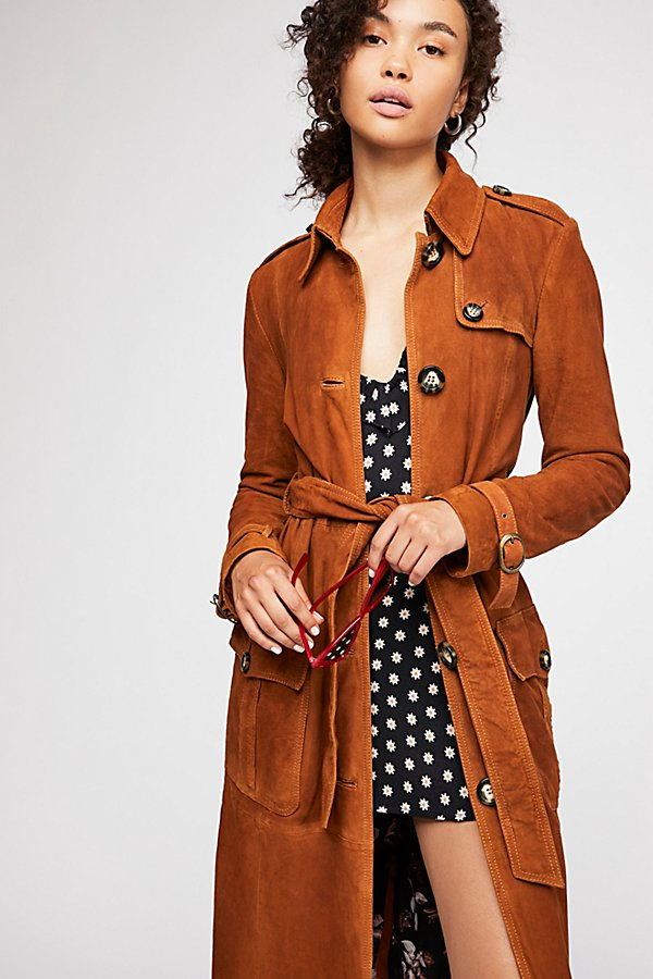 Slide View 2: We The Free Larsen Suede Trench