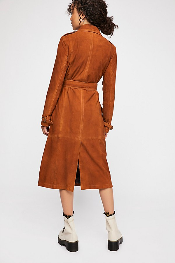 Slide View 4: We The Free Larsen Suede Trench