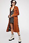Thumbnail View 6: We The Free Larsen Suede Trench