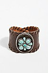 Thumbnail View 2: Distressed Leather Cuff