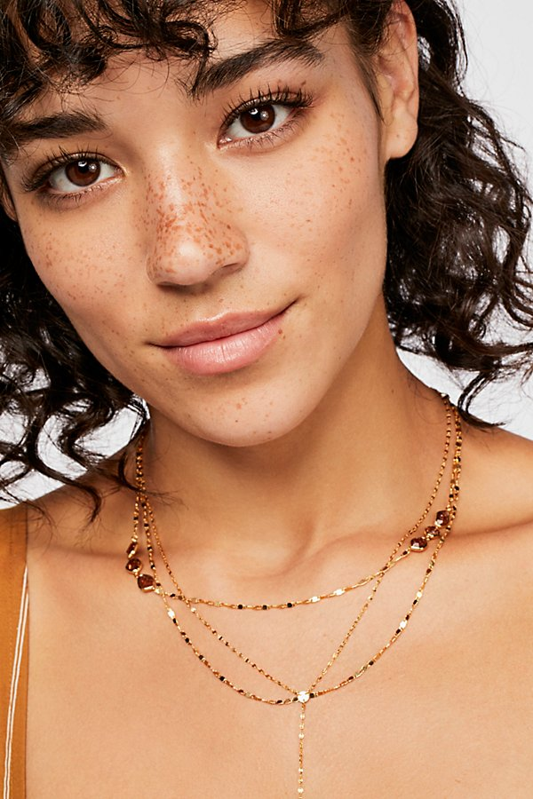 Slide View 1: Tai Delicate Layered Necklace