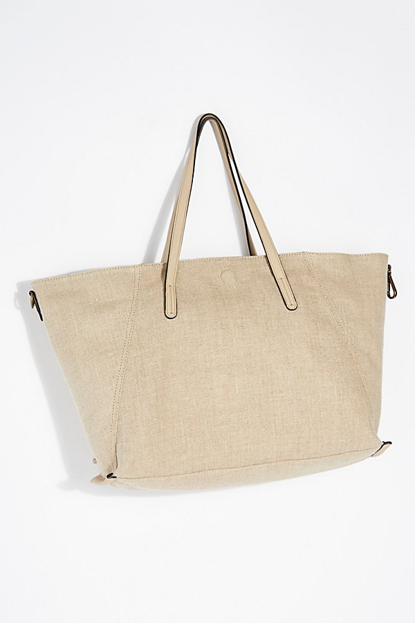 Slide View 2: Reversible Linen Tote