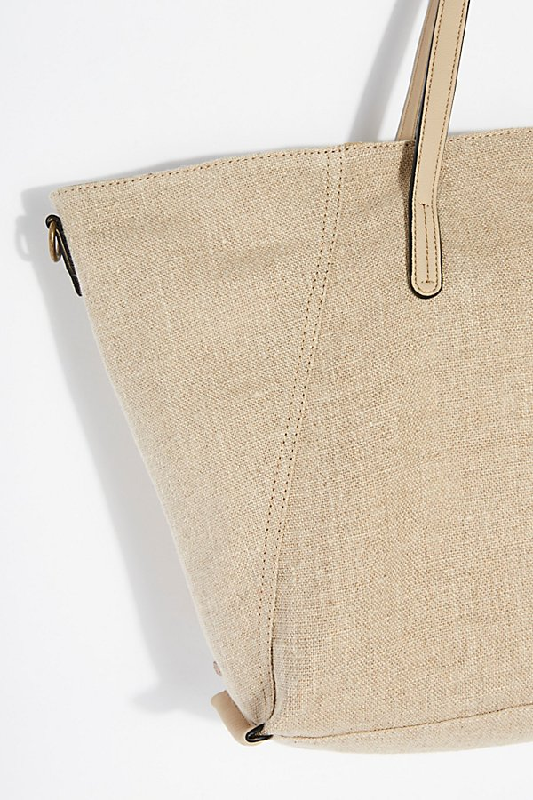Slide View 3: Reversible Linen Tote