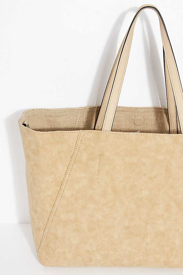 Slide View 5: Reversible Linen Tote