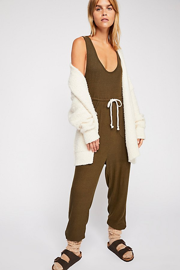 Slide View 1: Sunday Snuggles Jumpsuit