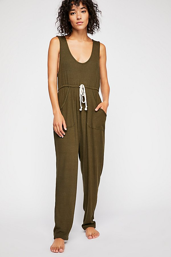 Slide View 2: Sunday Snuggles Jumpsuit