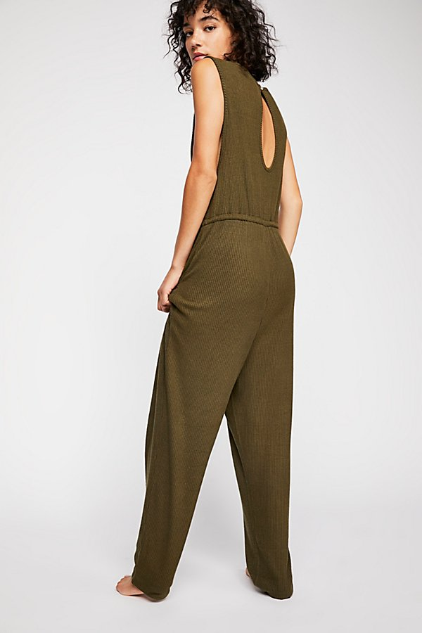 Slide View 3: Sunday Snuggles Jumpsuit