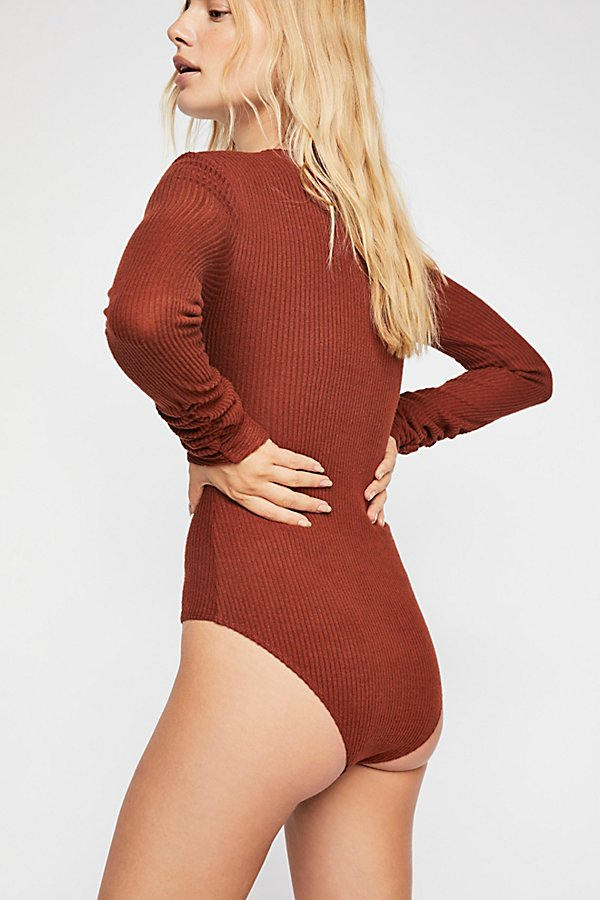 Slide View 3: Cozy Up With Me Bodysuit