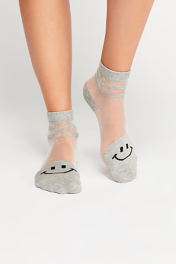 Slide View 2: Happy Face Anklet