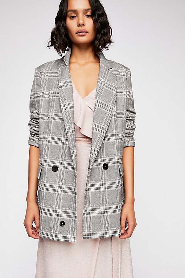 Slide View 1: Sporty Uptown Girl Blazer