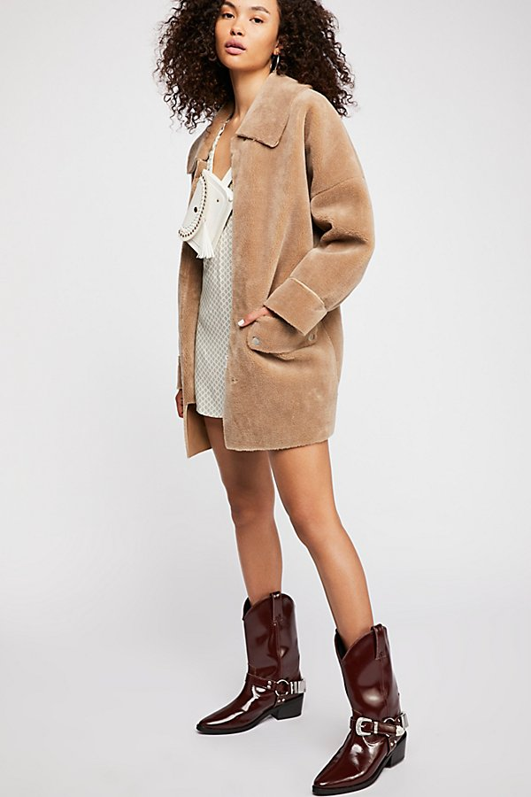 Slide View 2: Lindsay Faux Sherpa Coat