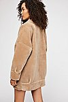 Thumbnail View 4: Lindsay Faux Sherpa Coat