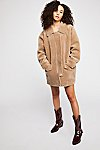 Thumbnail View 6: Lindsay Faux Sherpa Coat