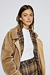 Thumbnail View 1: Lindsay Faux Sherpa Coat