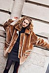 Thumbnail View 7: Lindsay Faux Sherpa Coat