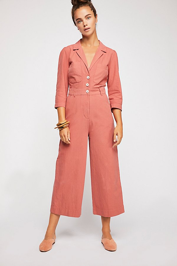Slide View 2: Back Into It Jumpsuit