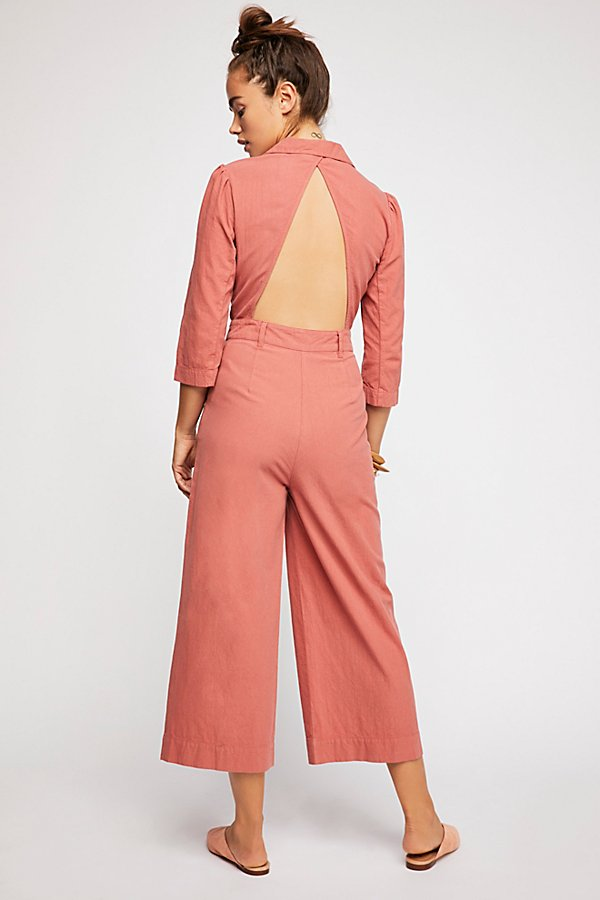 Slide View 3: Back Into It Jumpsuit