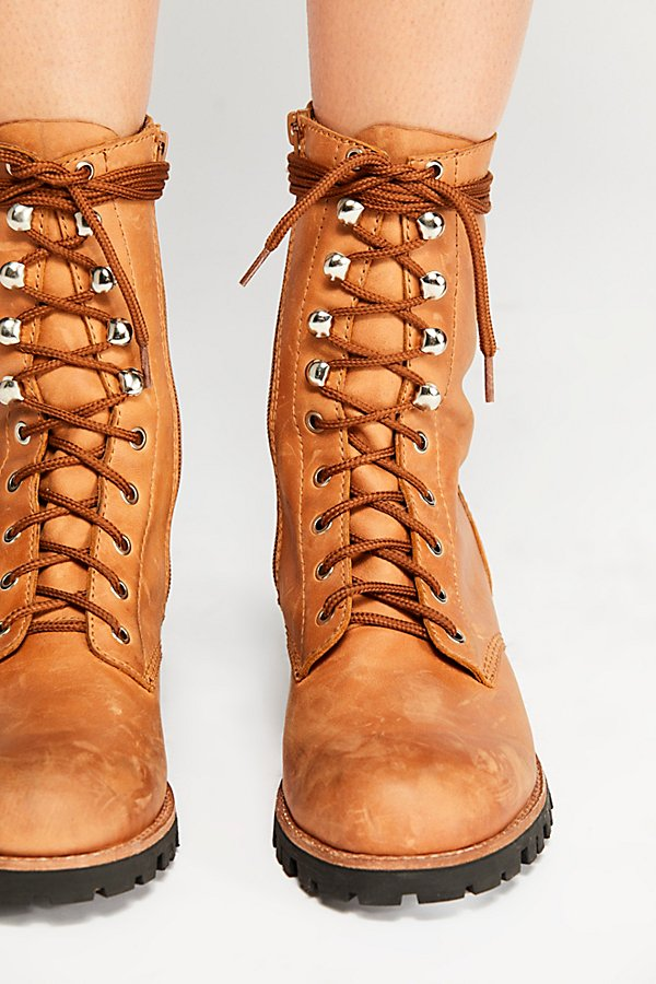 Slide View 3: Lucca Lace-Up Boot