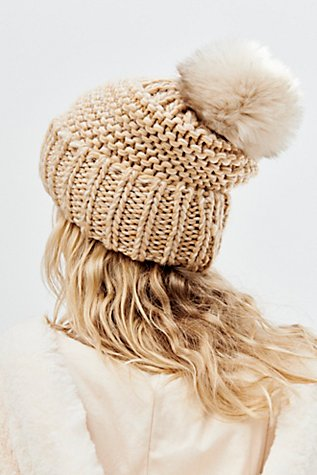 Slide View 2: Skyline Pom Beanie