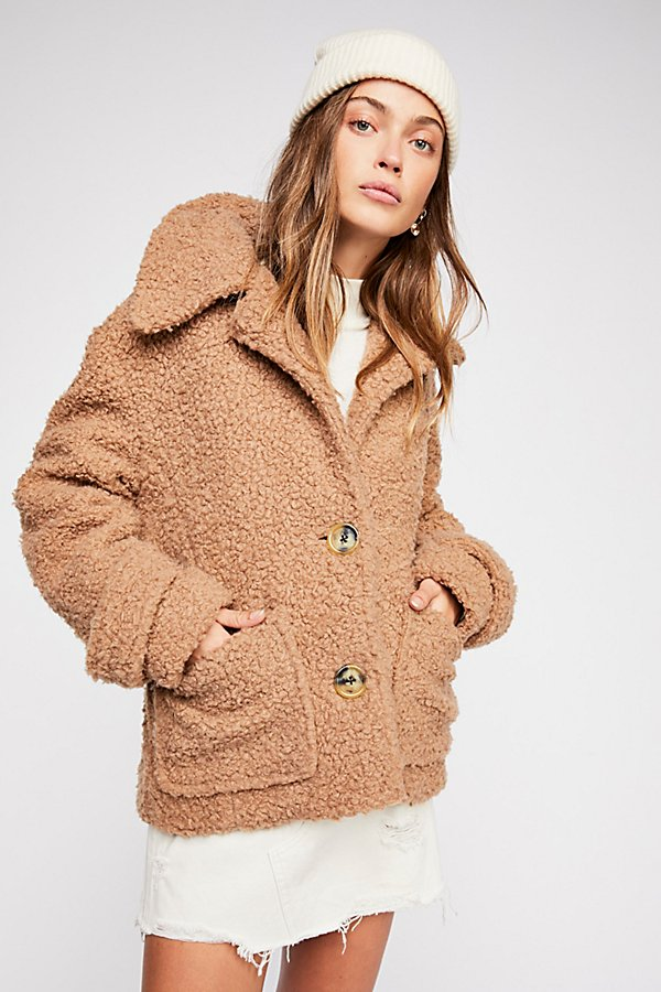 Slide View 3: So Soft Cozy Peacoat