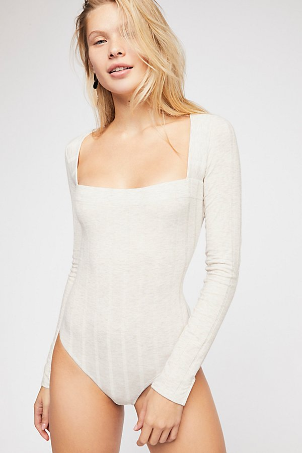 Slide View 1: Beside Me Long Sleeve Bodysuit