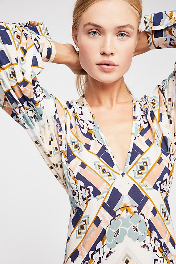 Slide View 3: Ride To The Sunset Printed Tunic