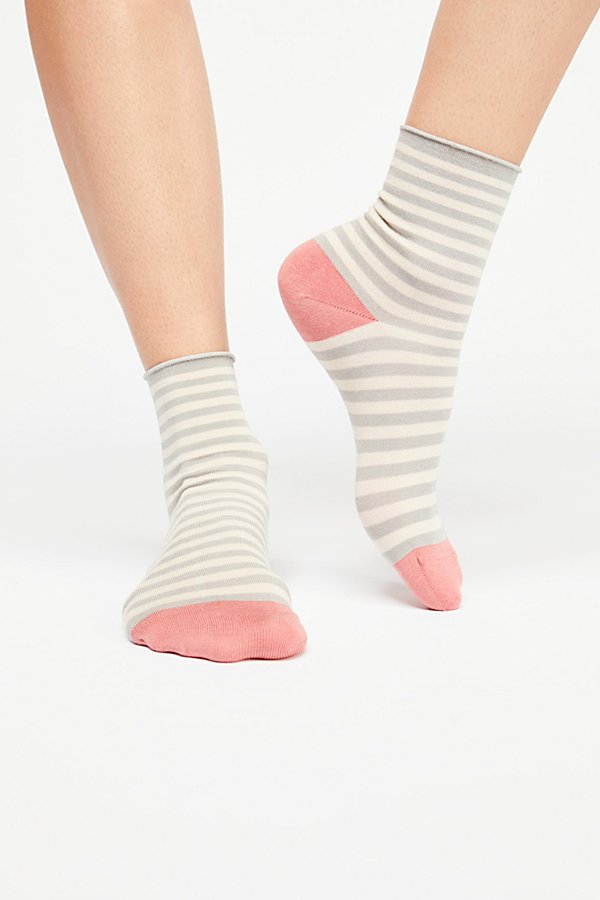 Slide View 1: Printed Silky 3 Pack Sock Set