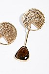 Thumbnail View 2: Sabine Tourmaline Drop Earrings
