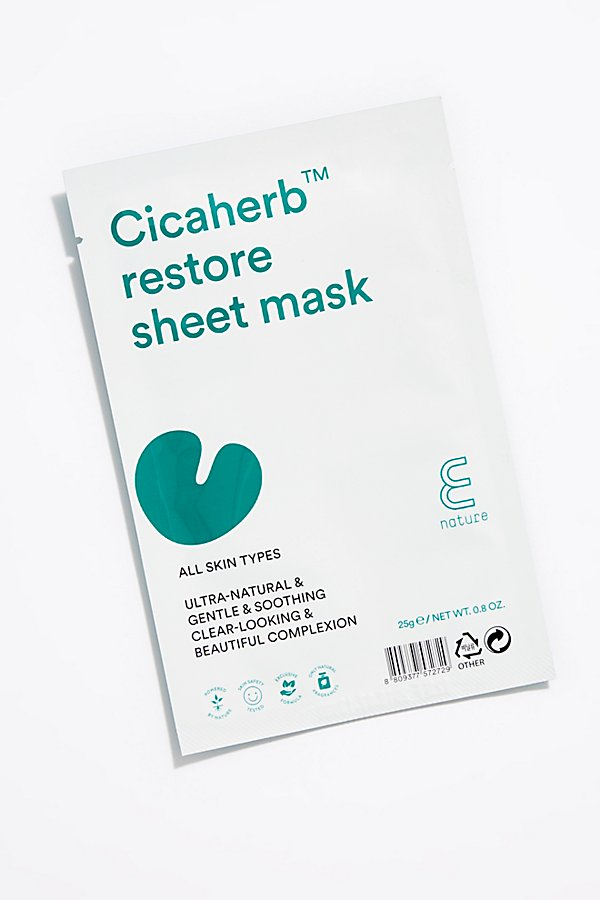 Slide View 1: E Nature Cicaherb Restore Sheet Mask