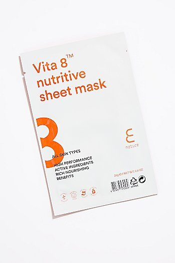 E Nature Vita 8 Nutritive Sheet Mask