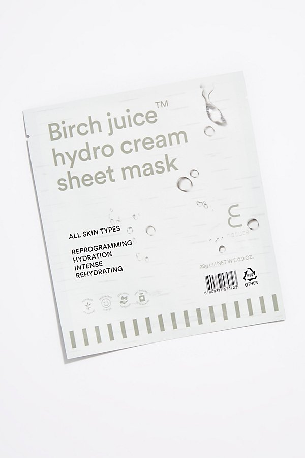 Slide View 1: E Nature Birch Juice Hydro Cream Sheet Mask