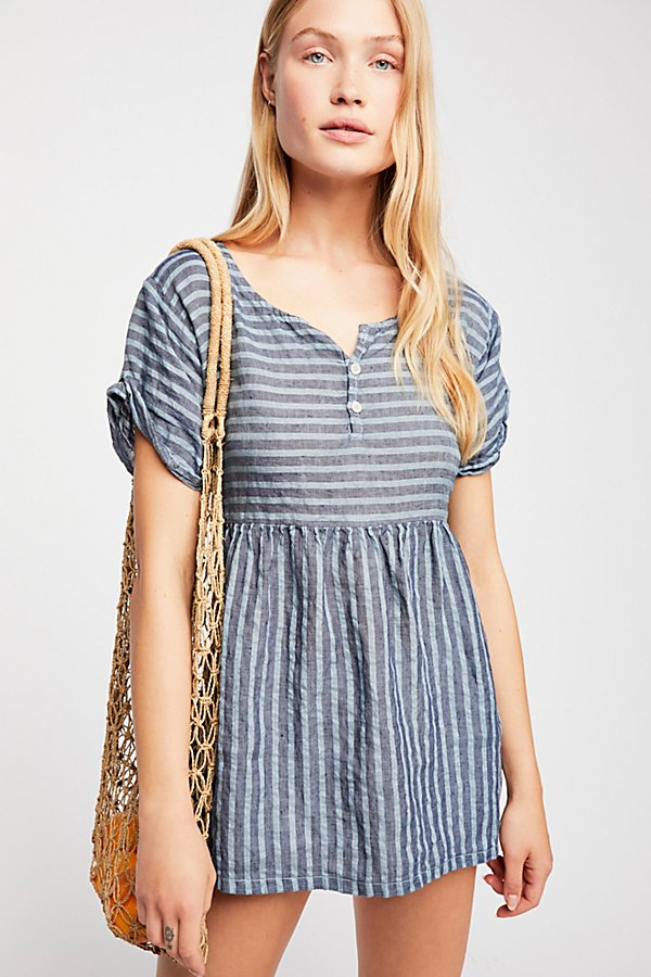 Slide View 1: Some Like It Striped Tunic