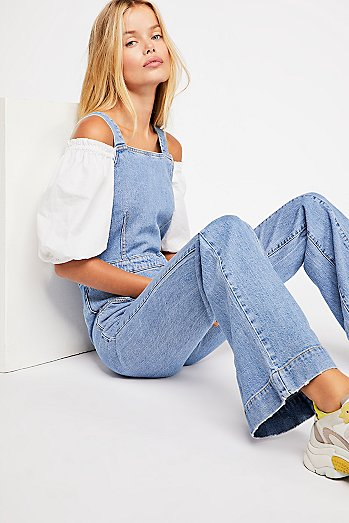 Aurora Denim One-Piece