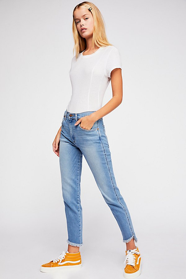 Slide View 1: Wrangler High-Rise Heritage Fit Jeans