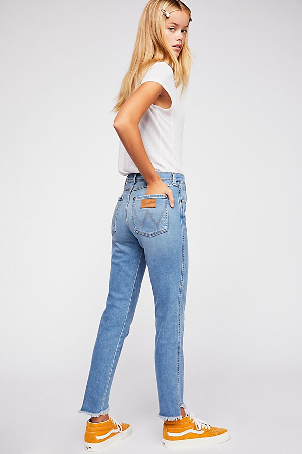 Slide View 2: Wrangler High-Rise Heritage Fit Jeans