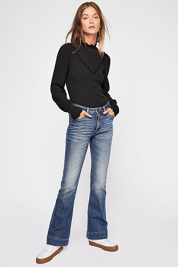 Slide View 3: Wrangler Exaggerated Bootcut Jeans