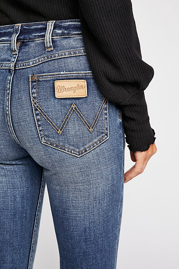 Slide View 5: Wrangler Exaggerated Bootcut Jeans