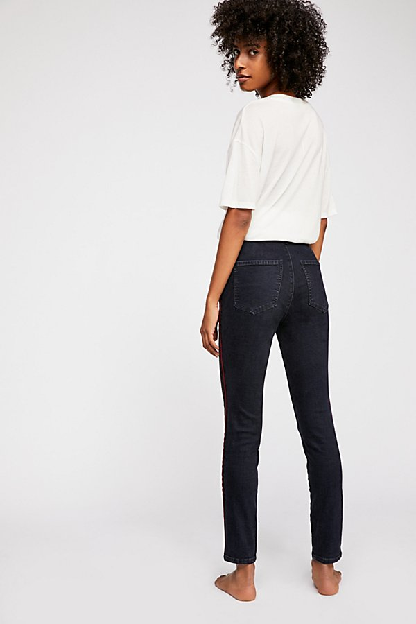 Slide View 3: Silver Lining Skinny Jeans